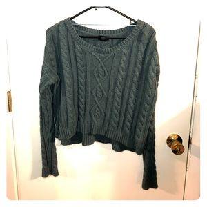 Tops - Sweater crop top